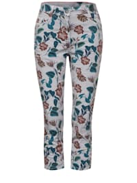Casual Fit Hose in Print