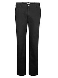 Flat-Front Hose mit verstellbarem Bund