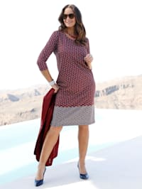 Kleid mit edlem Kettendruck