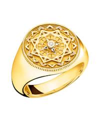 Damenring mit Diamant Thomas Sabo D_TR0042-924-14