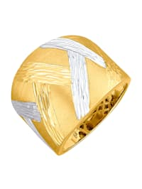 Damesring van 14 kt. goud