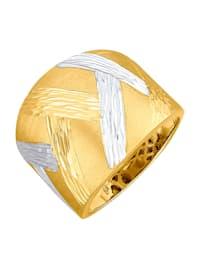 Ring i guld 14 k