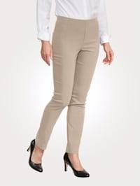Pantalon facile à enfiler à jambe ajustée