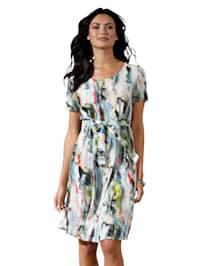 Kleid mit Farbverlauf allover