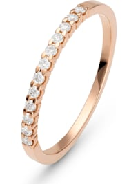 CHRIST Damen-Damenring 12 Diamant