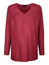 Pullover mit modischem Strickmuster