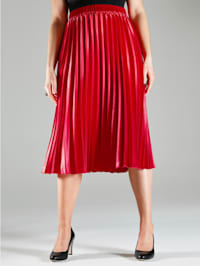 Plisovaná sukňa v rozšírenom strihu