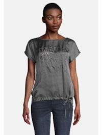 Printshirt mit Placement