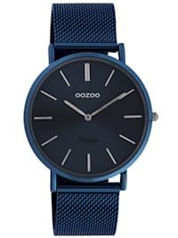 Damen-Armbanduhr Ultra Slim Nachtblau 40 mm