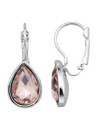 Ohrringe mit Glassteinen
