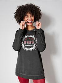 Sweatshirt im rockigen Style