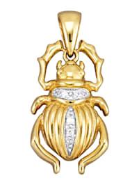 Pendentif Scarabée avec diamants