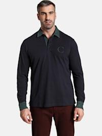 Charles Colby Langarm-Poloshirt DUKE BLAKE