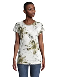 Kurzarm-Shirt mit Rundhalsausschnitt