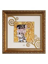 """Wandbild Gustav Klimt - """"Die Erwartung"""""""