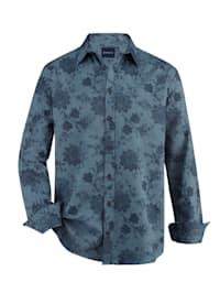 Overhemd van zacht twillmateriaal