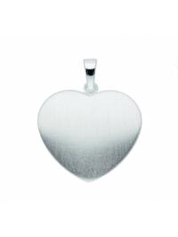 Damen Silberschmuck 925 Silber Gravurplatte Anhänger