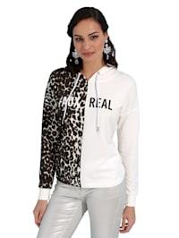 Sweatshirt met animaldessin