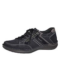 Šnurovacia obuv s 2 praktickými zipsami
