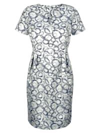 Kleid aus edler Jacquard-Ware