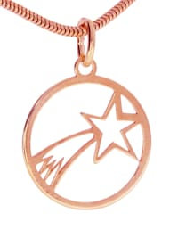 Bethlehem Stern Anhänger 925 rosé Silber