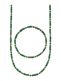 Korusetti, 2-os. smaragdeilla