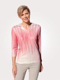 Pullover mit Kettendruck
