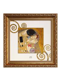 "Goebel Wandbild Gustav Klimt - ""Der Kuss"""
