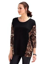 Shirt in trendy model