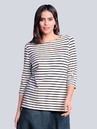 Tričko v námořnické barevné kombinaci