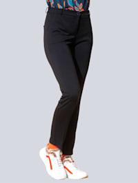 Jersey broek van comfortabel materiaal
