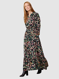 Kleid in floralem Dessin