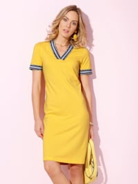 Kleid aus Pikee-Baumwolle