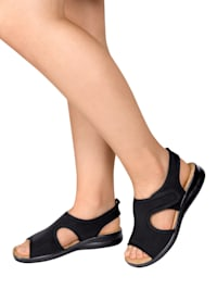 Sandales extensibles à bride auto-agrippante