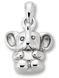 Damen Schmuck Anhänger Elefant aus 925 Silber