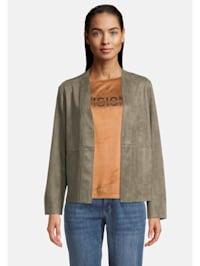 Casual-Jacke mit Taschen Taschen