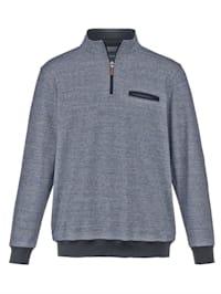 Sweatshirt med fläckskydd av teflon