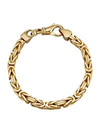 Königskettenarmband in Silber 925, vergoldet
