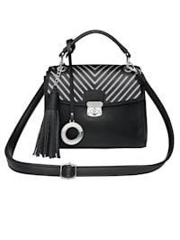 Handväska med avtagbar Emma & Kelly-hänge