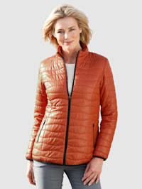 Gewatteerde jas in meerdere kleuren