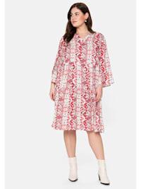 Kleid im Mustermix, jedes Teil ein Unikat