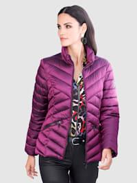 Gewatteerde jas met warme wattering