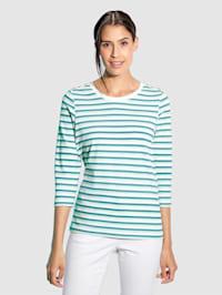 Shirt Mit dekorativen Zierknöpfen an der Schulter