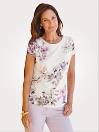 Shirt mit hübschem Blumendruck