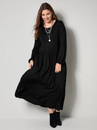 Maxi šaty z žerzejové kvality