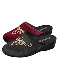 Pantofle, 2 páry