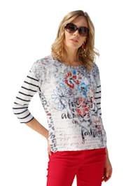 Shirt in transparenter Optik