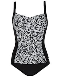 Prothesen Badeanzug Care Black & White