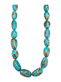 Collier en turquoises