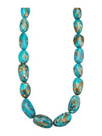 Halskette mit Türkis